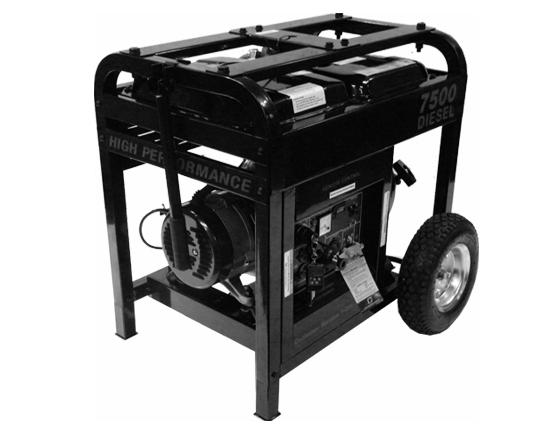 7500D Diesel Generator