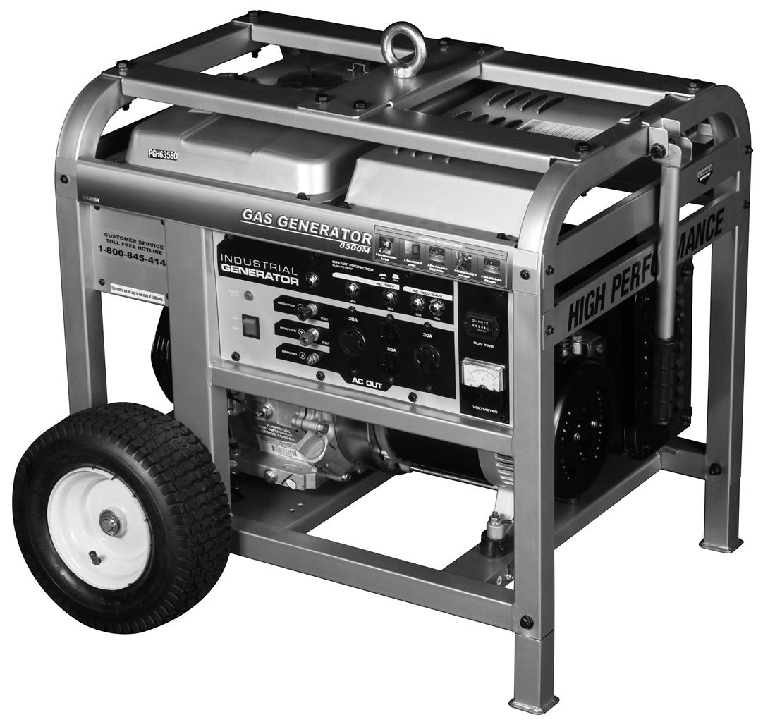8500M Gas Generator